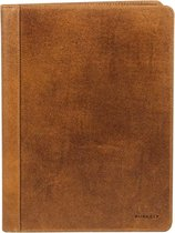BURKELY Vintage Bing A4 Filecover Schrijfmap - Cognac