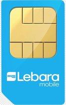 Lebara Prepaid Simkaart 5 euro Gratis beltegoed