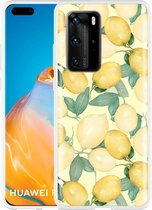 Huawei P40 Pro Hoesje Lemons