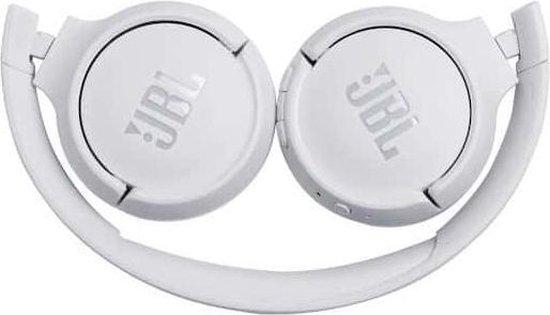JBL Tune 500BT - Draadloze on-ear koptelefoon - Wit