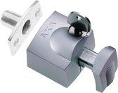 AXA 3012 Veiligheids oplegslot - 3012-20-90/G - draairichting 3-4 - Silverline