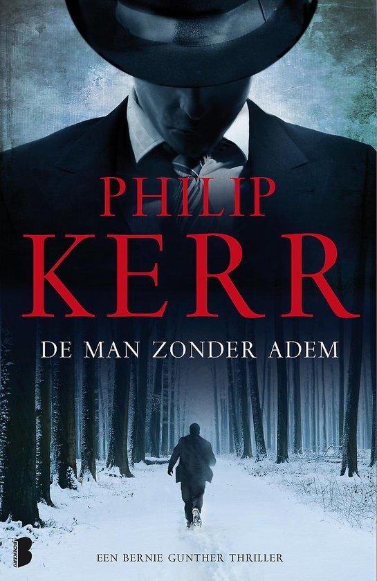 Cover van het boek 'De man zonder adem' van Philip Kerr