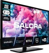 Salora 330 series 32HA330 tv 81,3 cm (32) HD Smart TV Wi-Fi Zwart