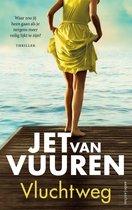 Boek cover Vluchtweg van Jet van Vuuren (Onbekend)