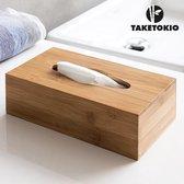 TakeTokio Doos van Bamboe voor Zakdoekjes