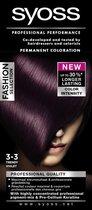 SYOSS Color Baseline 3-3 Trendy Violet Haarverf - 1 stuk