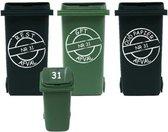 Voordeelset 6x sticker kliko / container   Rosami