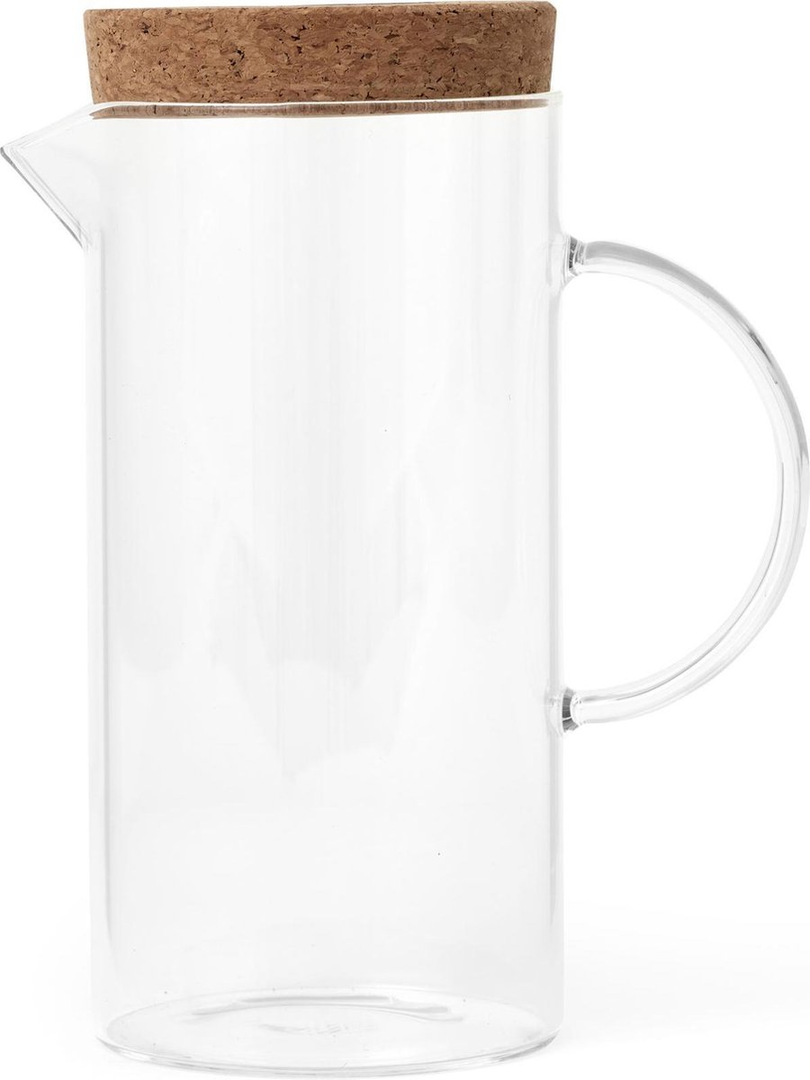 Viva Scandinavia - Cortica Water Karaf - 1.2 Liter - Glas/Kurk - Viva Scandinavia
