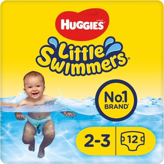 Huggies Little Swimmers maat 2/3 x3