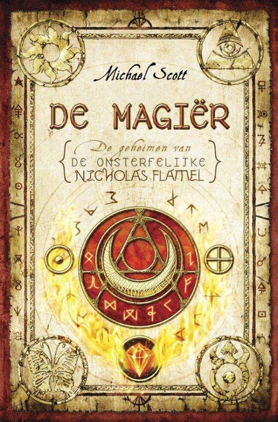 Cover van het boek 'De magier' van Micheal Scott