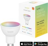 Hombli Smart Spot  - Wit en gekleurd licht- Dimbaar GU10 LED - Wifi