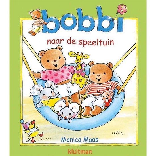 Boek cover Boek Bobbi naar de Speeltuin van Monica Maas