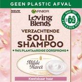 4. Garnier Loving Blends Solid Shampoo Bar Milde Haver - 1 stuk - Voor Kwetsbaar haar