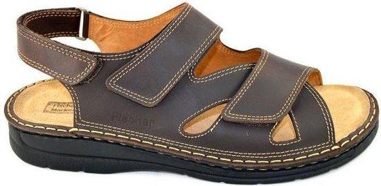 Fischer -Heren -  bruin donker - sandalen - maat 46