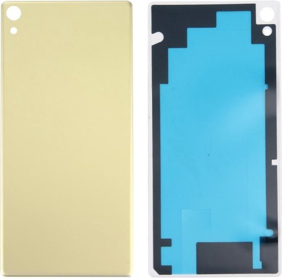 Let op type!! Ultra Back Battery Cover for Sony Xperia XA (Lime Gold)