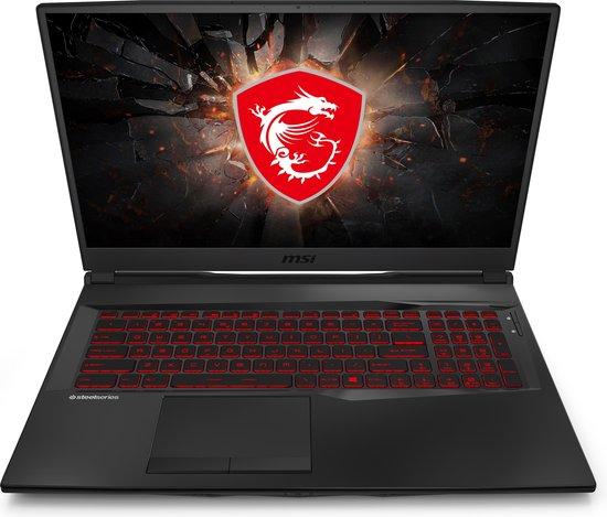 MSI Gaming GL75 10SDR-063NL Leopard Notebook Zwart 43,9 cm (17.3'') 1920 x 1080 Pixels Intel® 10de generatie Core™ i7 16 GB DDR4-SDRAM 512 GB SSD NVIDIA® GeForce® GTX 1660 Ti Wi-Fi 6 (802.11ax) Windows 10 Home