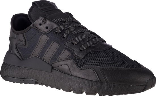 adidas Originals Nite Jogger FV1277, Mannen, Zwart, Sneakers maat: 44 2/3 EU