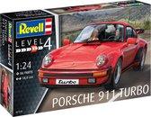Revell Modelbouwset Porsche 911 Turbo 180 Mm Schaal 1:24
