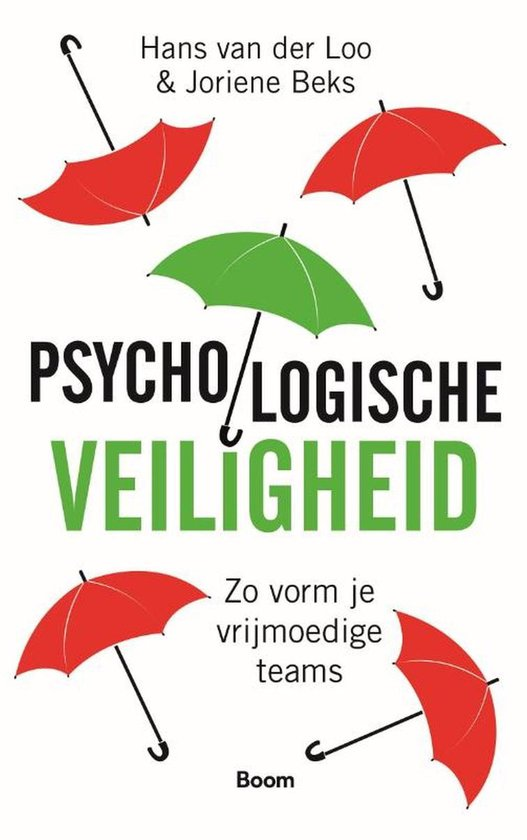 Boek cover Psychologische veiligheid van Hans van der Loo (Onbekend)