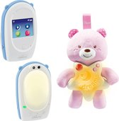Bol.com-Chicco First Dreams Babyfoon Meisjes - Wit/Blauw - 3-Delig-aanbieding