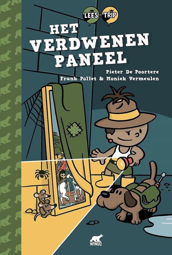 Boek cover Het verdwenen paneel van Pieter De Poortere (Hardcover)