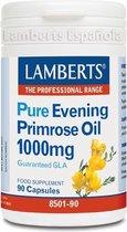 Lamberts Teunisbloemolie 1000 mg - 90 Capsules - Voedingssupplementen