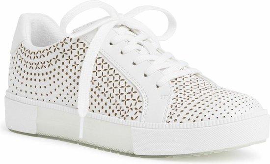 Marco Tozzi Dames Sneaker 2-2-23789-36 100 wit F-breedte Maat: 37 EU