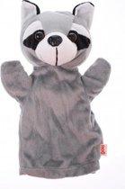 Goki Handpop wasbeer 28cm