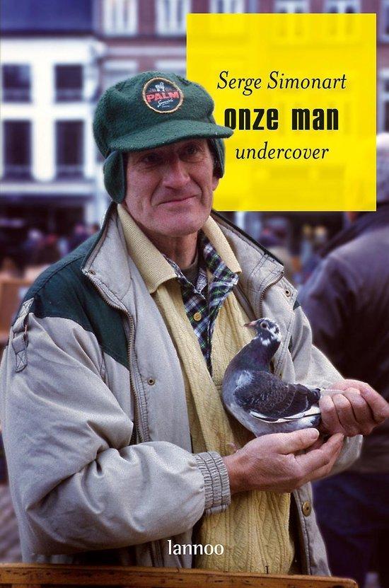 Boek cover ONZE MAN undercover van Serge Simonart (Paperback)