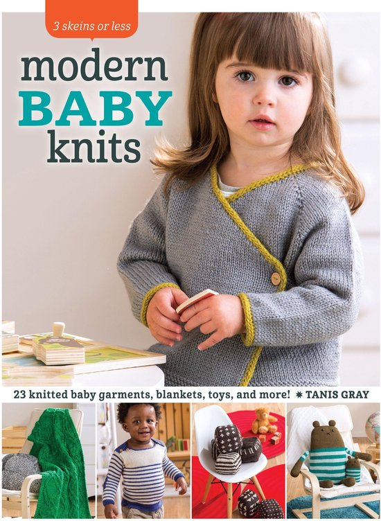 Boek cover 3 Skeins or Less - Modern Baby Knits van Tanis Gray (Onbekend)