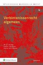 Boek cover Verbintenissenrecht algemeen van G.T. de Jong (Hardcover)