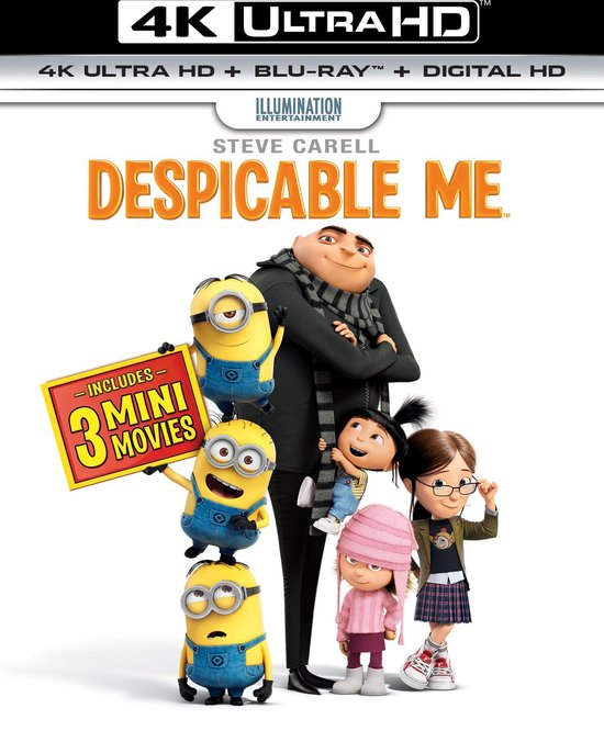 Verschrikkelijke Ikke (4K Ultra HD Blu-ray)
