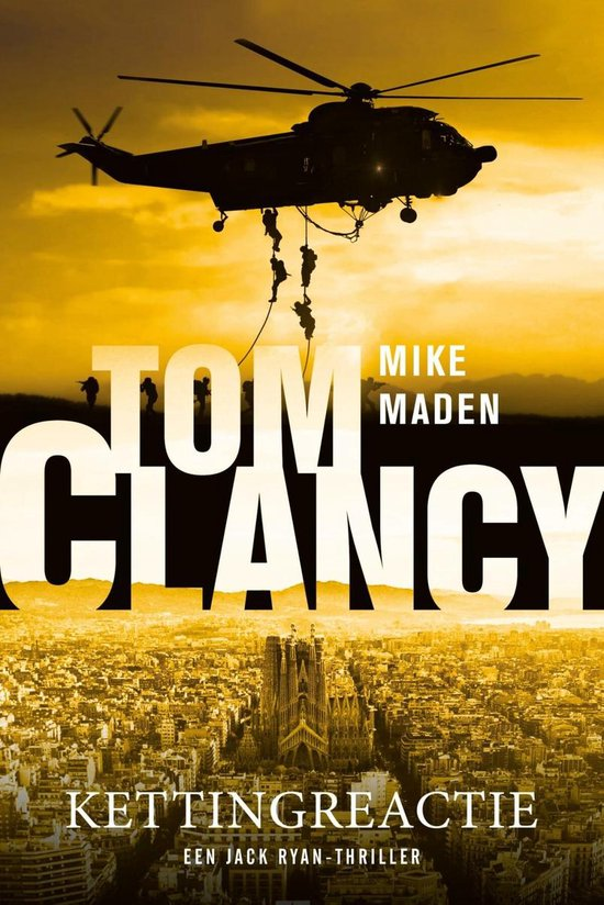 Boek cover Tom Clancy Kettingreactie van Mike Maden (Paperback)