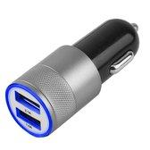 MMOBIEL High speed autolader oplaad adapter met 2 USB poorten 2.1A + 1.0A met een top kwaliteit lightning kabel voor Apple iPhone, iPad en iPod