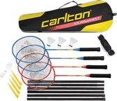 Carlton TOURNAMENT -  4 spelers badmintonset