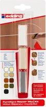 Edding 8901 meubel-reparatiewas-set, wit, per stuk in blisterverpakking