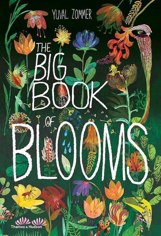 Boek cover The Big Book of Blooms van Yuval Zommer (Hardcover)