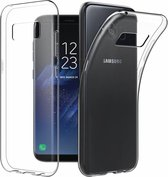 Samsung Galaxy S8+ (Plus) crystal clear grip bumper case cover hoesje
