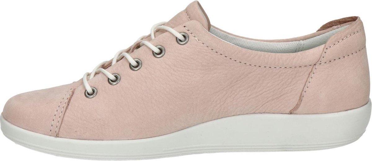 Ecco Soft 2.0 dames sneaker Rose Maat 43