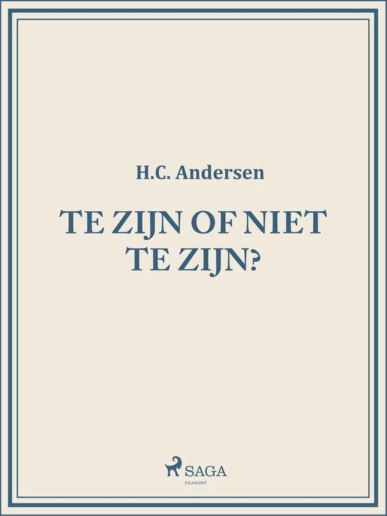 Te zijn of niet te zijn? - H. C. Andersen pdf epub