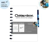 Whiteboard notitieblok / schrift - Correctbook A5 lijntjes