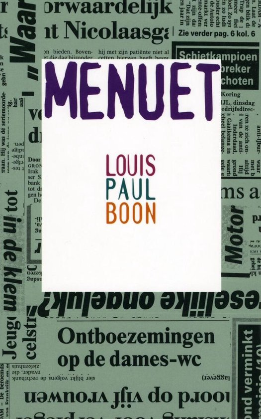 Menuet - Louis Paul Boon   Readingchampions.org.uk