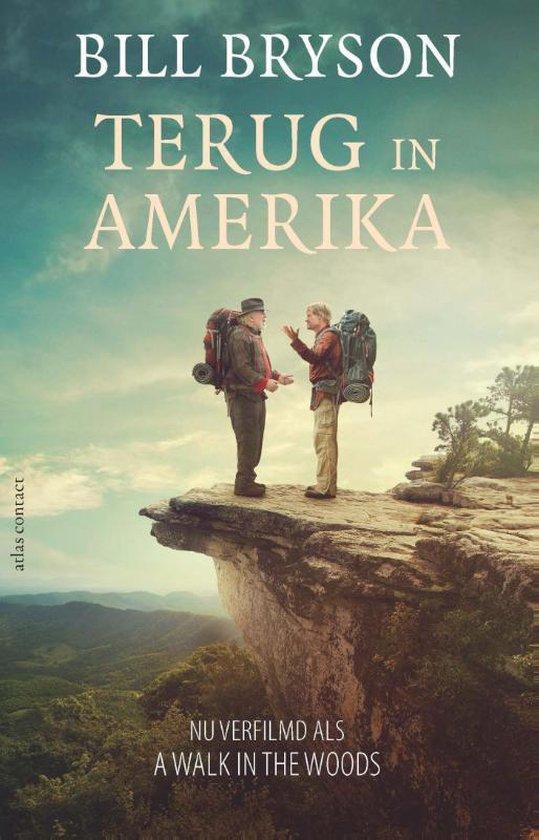 Boek cover Terug in Amerika van Bill Bryson (Paperback)