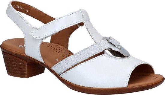 Ara Lugano Witte Sandalen Dames 39