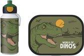 Mepal Campus lunchset - Pop-up fles en lunchbox - Dino