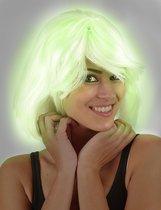 Pruik Chloë - Glow-in-the-dark