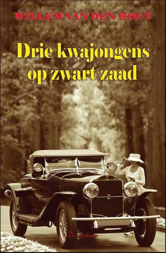 Drie kwajongens op zwart zaad - Willem van den Hout |