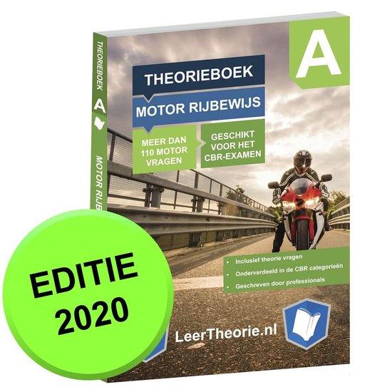 Afbeelding van Theorieboek Motor Motorfiets Rijbewijs A - Theorie Leren Motor 2020