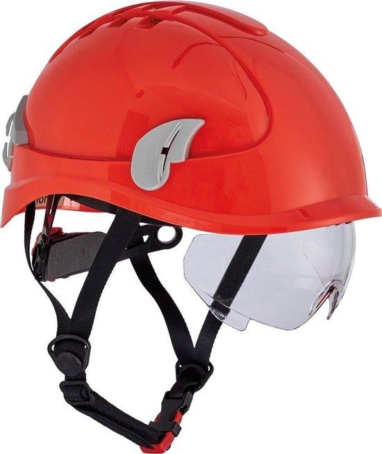 Cerva Alpinworker Lichte veiligheidshelm met veiligheidsbril
