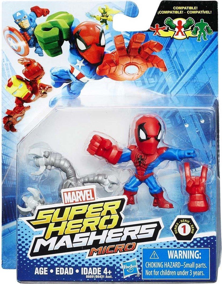Hasbro Marvel Super Hero Machers Mini Figuur met Accessoires Assorti